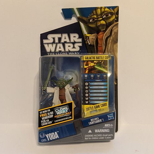 Star Wars: The Clone Wars Animated Series Yoda by Hasbro