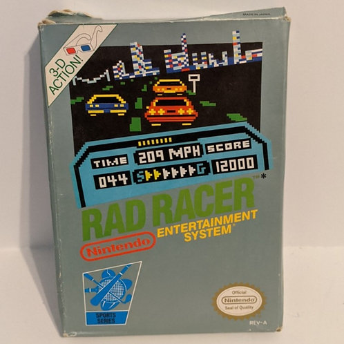 Rad Racer NES Cart w/ Extras by Nintendo (works)