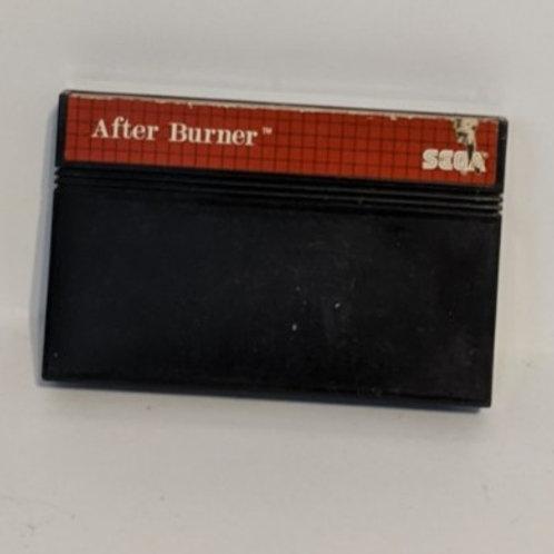After Burner Sega Master System Game Cart (works)