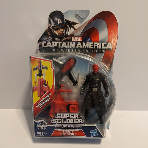Captain America: The Winter Soldier Air Raid Red Skull by Hasbro (2013)