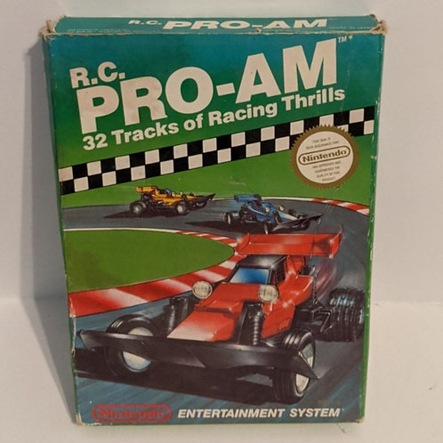 R.C. Pro-Am NES Game Cart w/ Extras by Nintendo (works)
