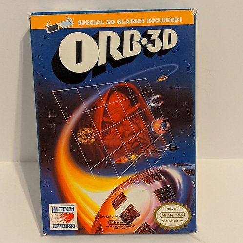 Orb 3-D NES Game Cart w/ Extras by Hi-Tech (works)