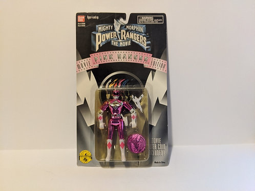 Mighty Morphin Power Rangers: The Movie Pink Ranger by Bandai