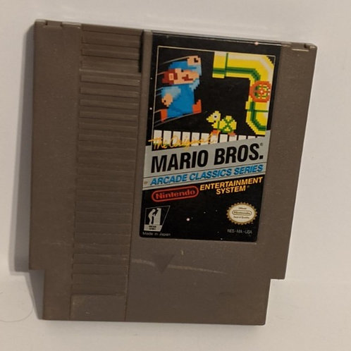 Mario Bro. Arcade Classic Series NES Game Cart by Nintendo (works)