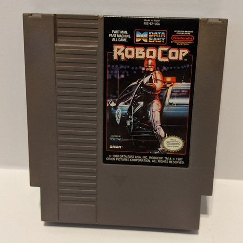 Robocop NES Cart by Data East (Works Great!)