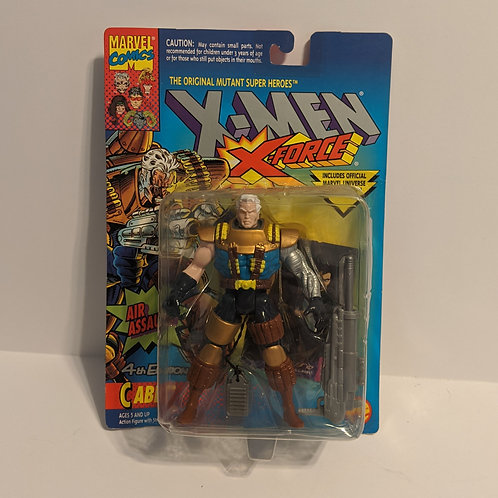 X-Men: X-Force Air Assault Cable 4th Edition by Toy Biz