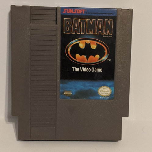Batman: The Video Game NES Cart by Sunsoft (Works)