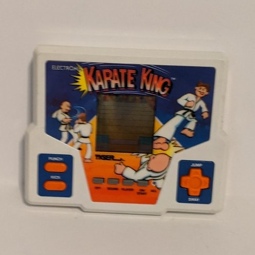 Karate King Tiger Electronic Handheld Game (works)
