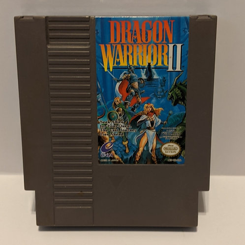 Dragon Warrior 2 Enix NES Cart Only (Works Great!)