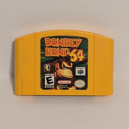 Donkey Kong 64 N64 Game Cart by Nintendo