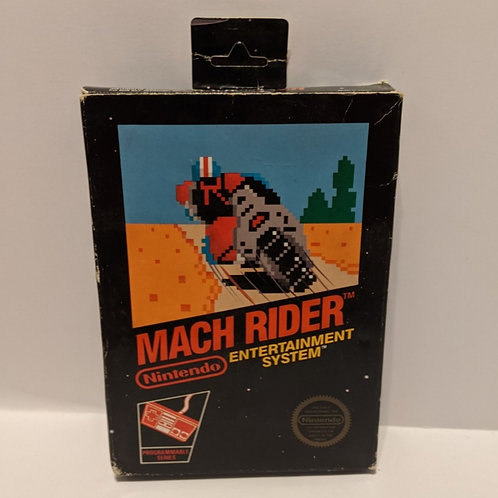 NES Mach Rider with Extras (Works Great!)