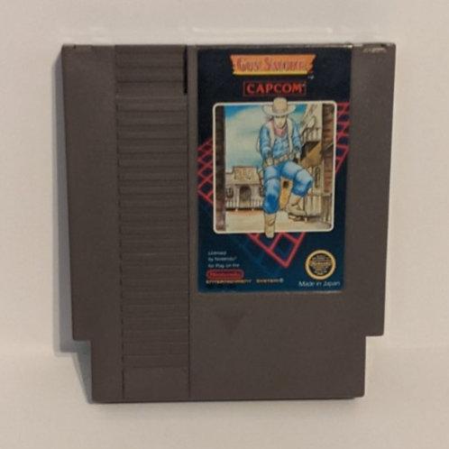 Gun.Smoke NES Cart by Capcom (works)