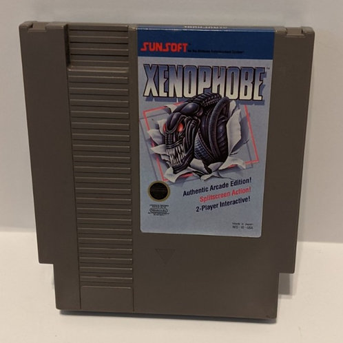 Xenophobe NES Cart by Sunsoft (Works Great!)