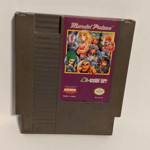 Mendel Palace NES Game Cart by Hudson Soft (works)