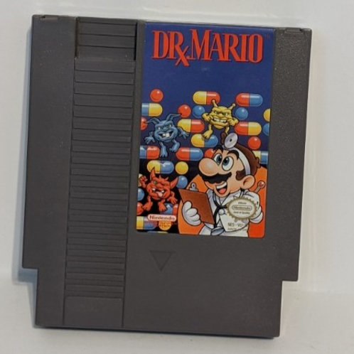 Dr. Mario NES Game Cart by Nintendo (works)