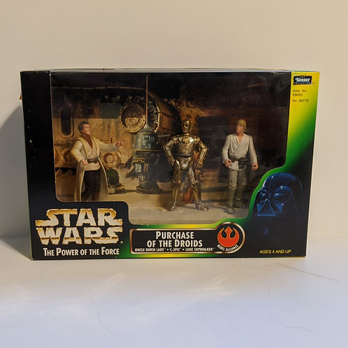 Star Wars POTF Purchase of the Droids 3-Pack by Kenner