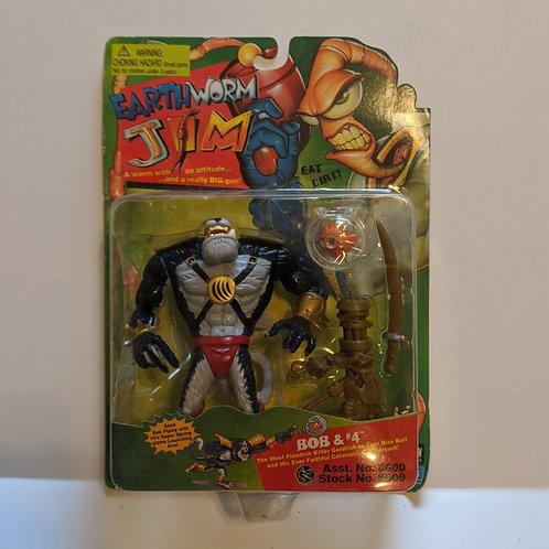 Earthworm Jim Bob & #4 by Playmates