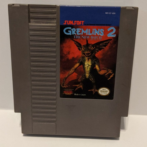 Gremlins 2: The New Batch by Sunsoft NES Cart Only (Works Great!)