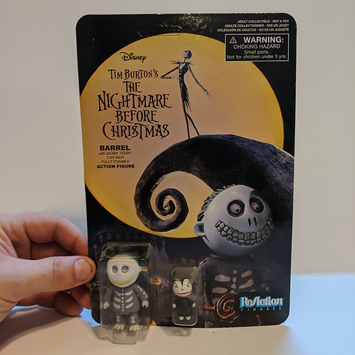 The Nightmare Before Christmas Barrel Reaction Figure by Funko & Super7