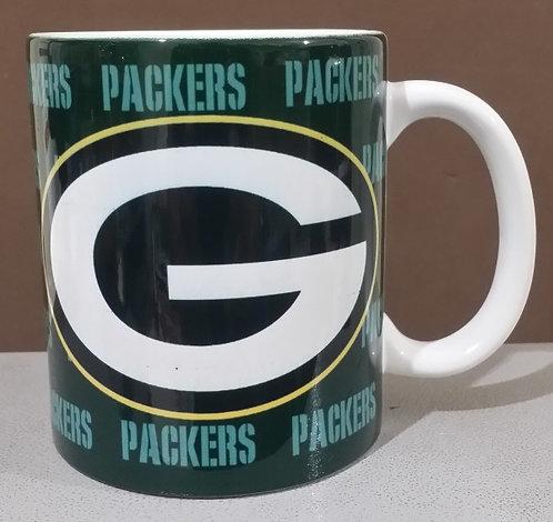 Caneca de cerâmica personalizada Green Bay Packers