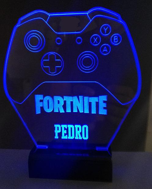 Luminária LED Controle Xbox