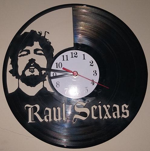 Relógio em disco de vinil Raul Seixas