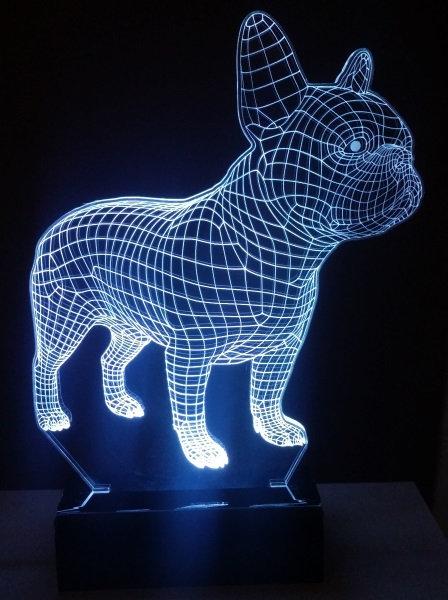 Luminária LED Buldogues Frances