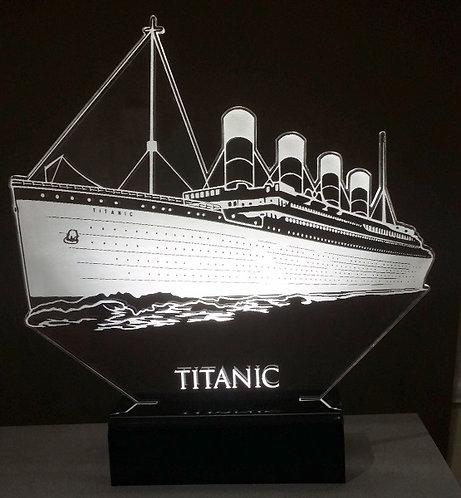 Abajur LED Titanic