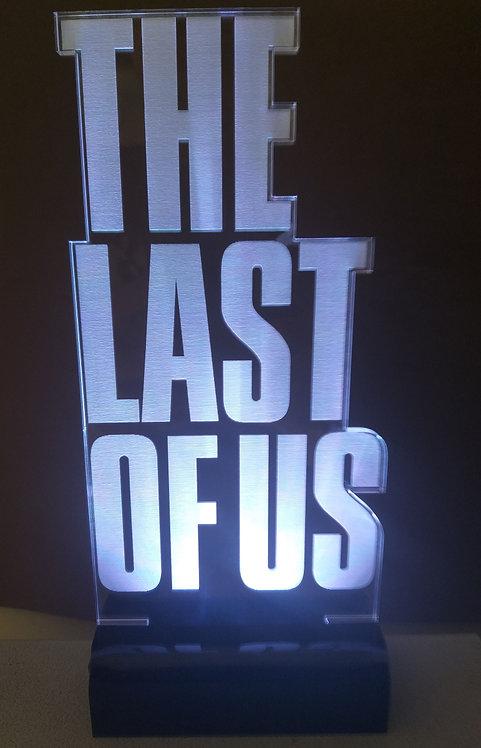 Luminária Led 3D The Last Of Us