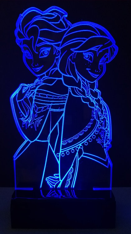Luminária LED Frozen