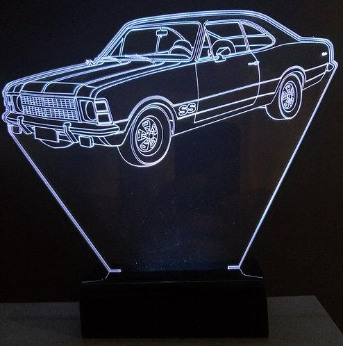 Luminária Led 3D Opala SS 78