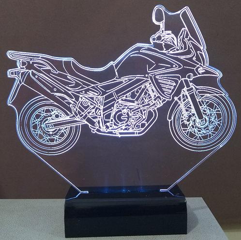 Luminária de mesa LED - Suzuki V-Strom 650