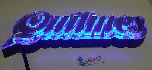 Luminária de Parede Cerveja Quilmes