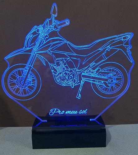 Luminária de mesa LED Yamaha Tenere 660