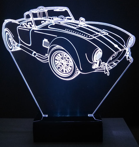 Luminária LED 3D Shelby Cobra 427