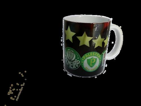 Caneca de cerâmica Palmeiras
