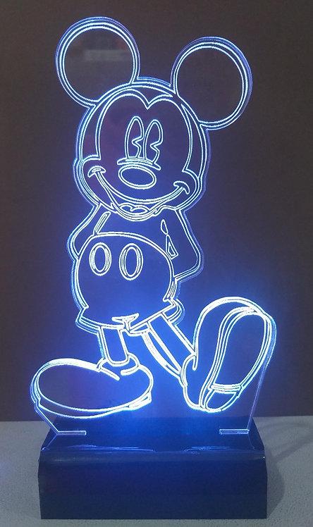 Luminária LED Mickey 1