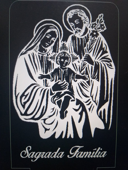 Luminária de Mesa Abajur Led Sagrada Família
