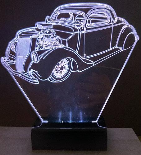 Luminária LED 3D HotRod