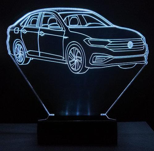 Luminária Led 3D VW Jetta