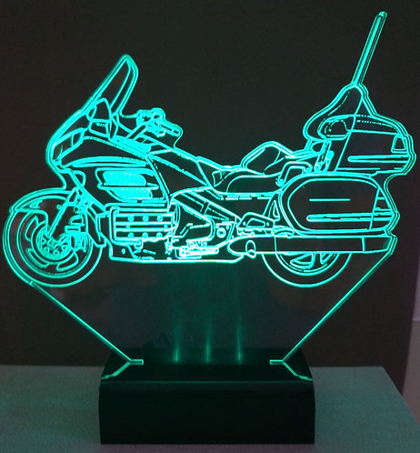 Luminária de mesa LED - Honda Gold Wing