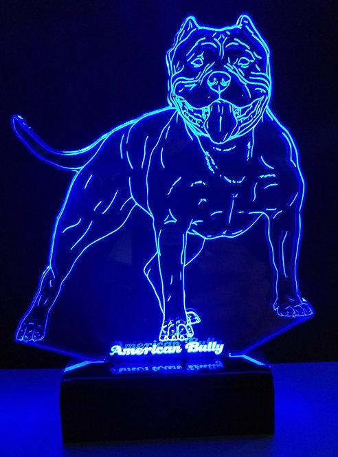 Luminária Abajur LED American Bully