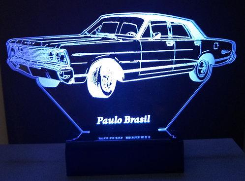 Luminária LED 3D Ford Landau