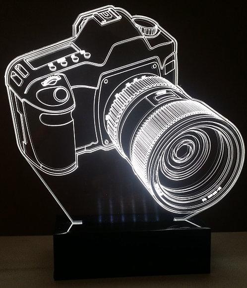 Luminária Abajur Fotografia Câmera