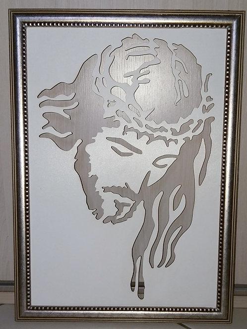 Quadro em MDF Jesus