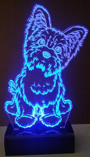 Luminária abajur Led Yorkshire
