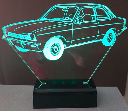 Luminária LED 3D Chevette