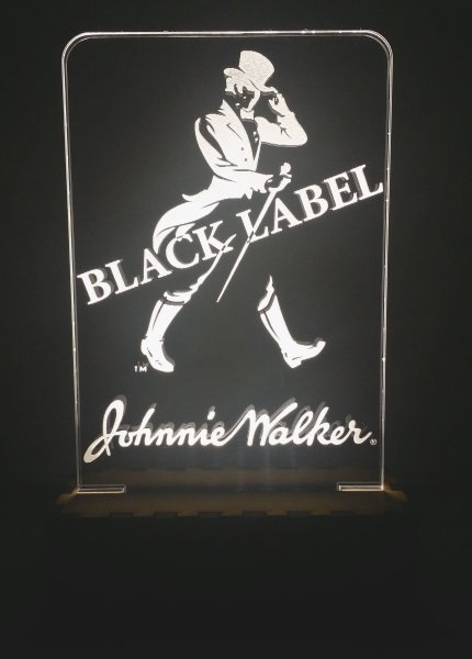 Luminária Abajur Whisky Jonnie Walker