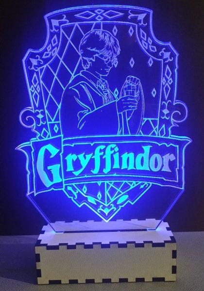 Luminária Abajur Flime Harry Potter
