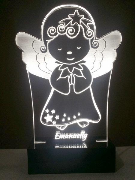 Luminária Abajur Anjo